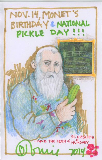 Monet Pickle Day 2014.jpg