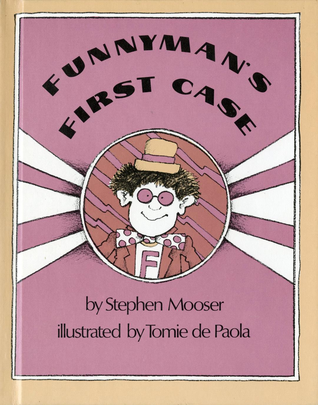 Funnyman's First Case HC.jpg