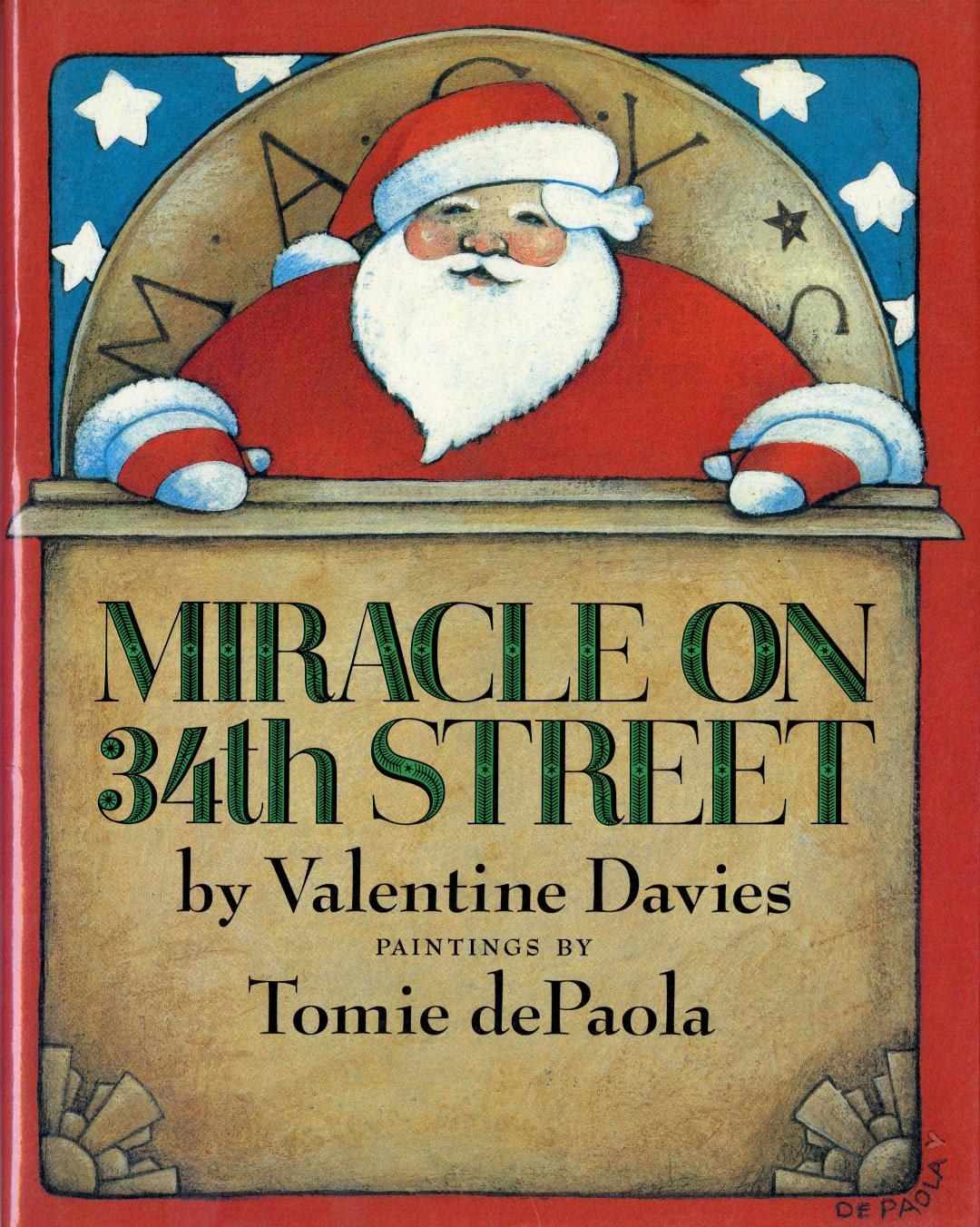 Miracle on 34th Street HC.jpg