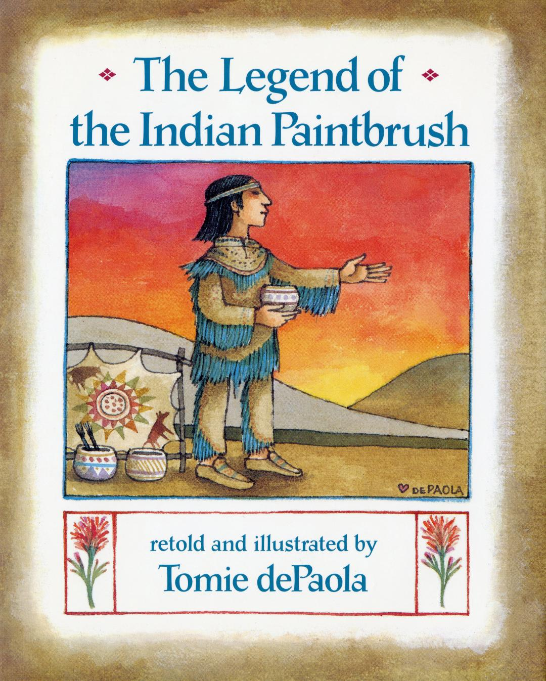Legend of the Indian Paintbrush, The HC.jpg
