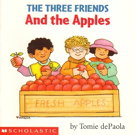 Three Friends and the Apples, The.jpg