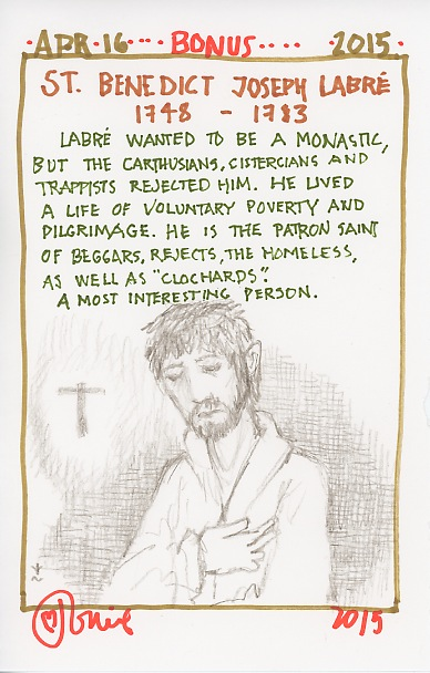 Saint Benedict Joseph Labre 2015.jpg