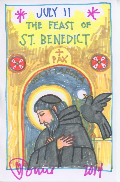 Saint Benedict Feast 2014.jpg