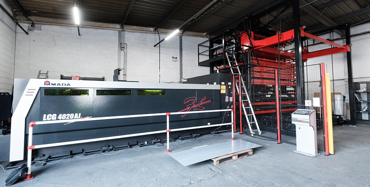 AMADA LCG 4020 AJ Fiber Laser
