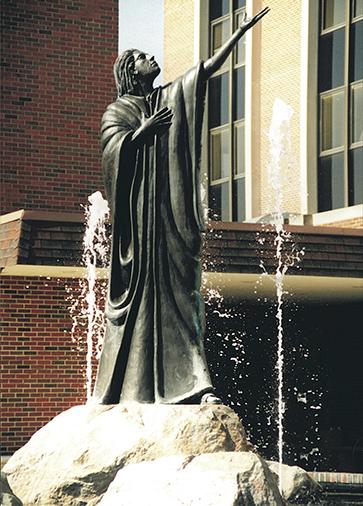 _The Beloved_ Fountain Detail Cast Bronze 10.5' Tall.  © 1993. Courtsey Artist Kenneth G. Ryden.jpg