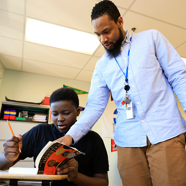 """I'm able to teach the way I want to teach, and teach the content that I think is best for my students."" -"