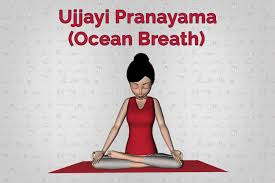 Creating a slight restriction through the back of the throat with the glottis, inhaling and exhaling through the noise. The sound should be slightly audible like a whisper. Creates a deep connection to the body and brings awareness into the now.