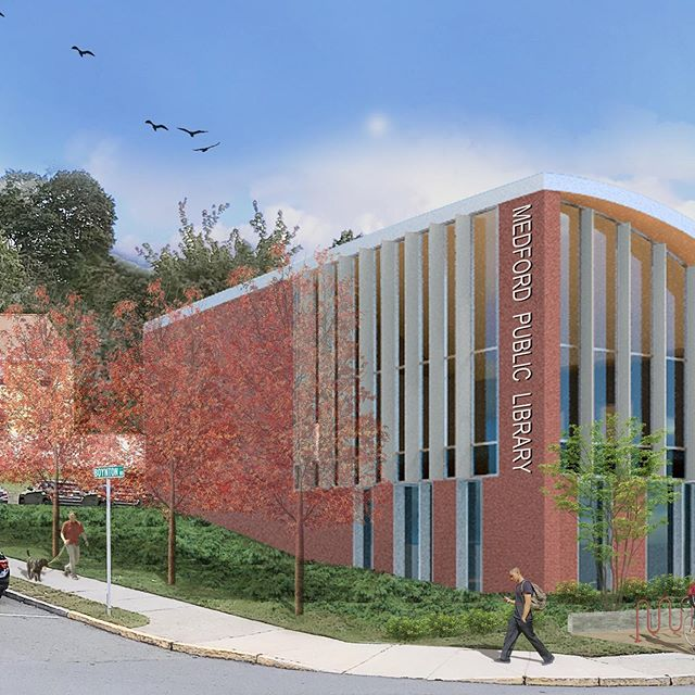 Countdown to construction! Our new Medford Public Library will break ground in just a few weeks. Get a preview of what's to come; link in bio. @mplteensection #medfordpubliclibrary #schwartzsilver #schwartzsilverarchitects #publiclibraries #freeforall #welovelibraries #medfordma #librariesofinstagram #librarydesign #ifyoubuildittheywillcome