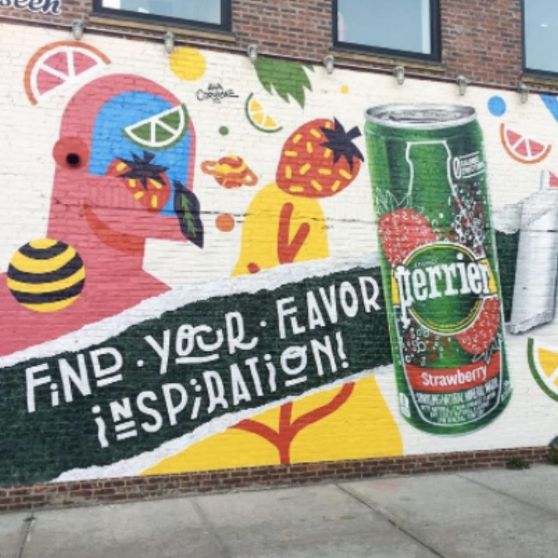 PERRIER - Perrier teamed up with Flavorpill Media to promote their new flavors of sparkling water. They tapped me to write email and social copy announcing and promoting a sponsored performance at House of Yes in Brooklyn, and a partnership with Uber.