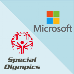 MICROSOFT & THE SPECIAL OLYMPICS... COMING SOON! - This work is not yet live. Just doing some quick name dropping so you know I'm fancy.