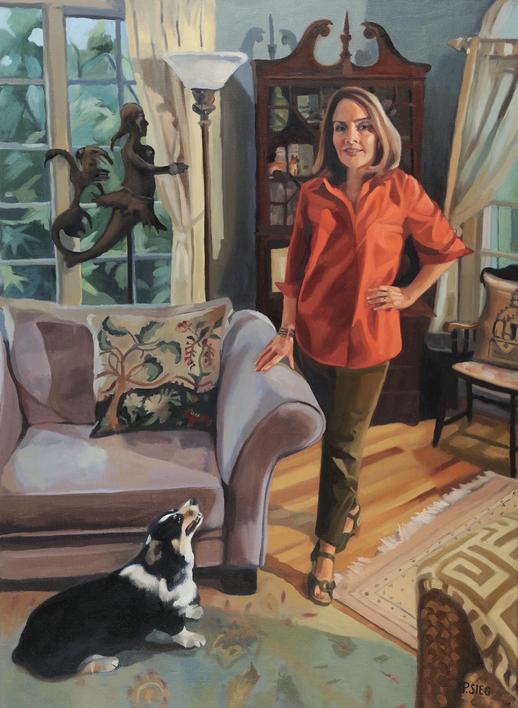 Lisa & Company,  Portrait by Patrick Sieg