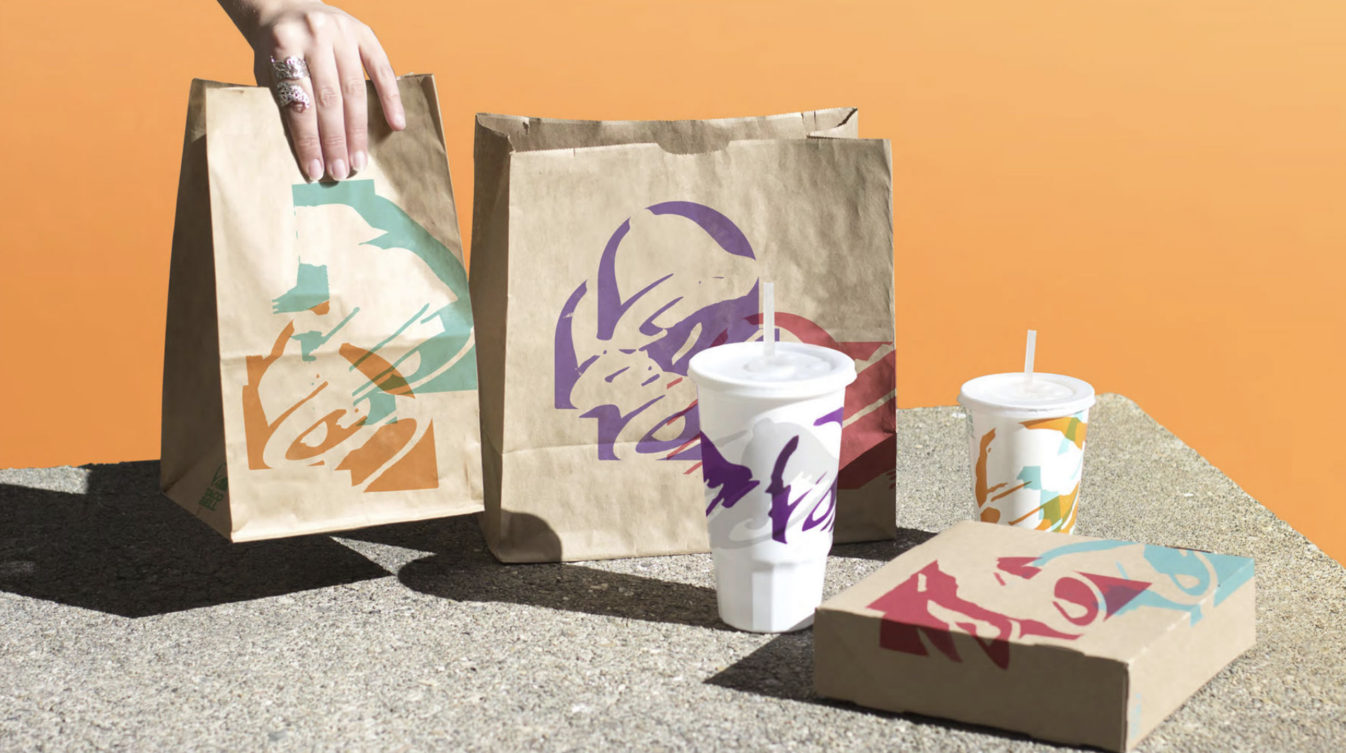"Still from the ""2016 Rebrand"" case study on tacobell.design"