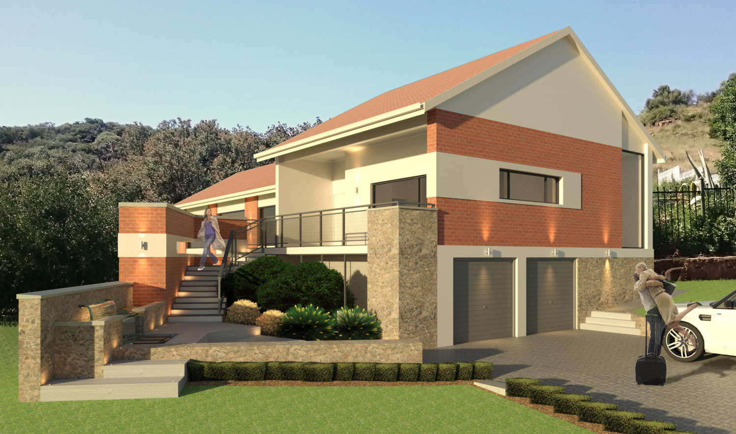 House Chinner - Addition and Alteration to an existing house on Grant's hill, Dan Pienaar, Bloemfontein