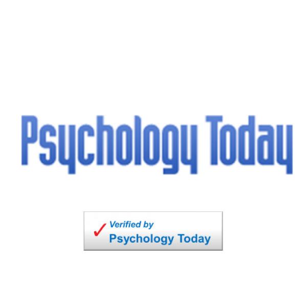 I am verified by Psychology Today
