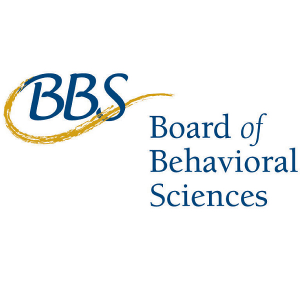 I am licensed by and affiliated with the California Board of Behavioral Sciences