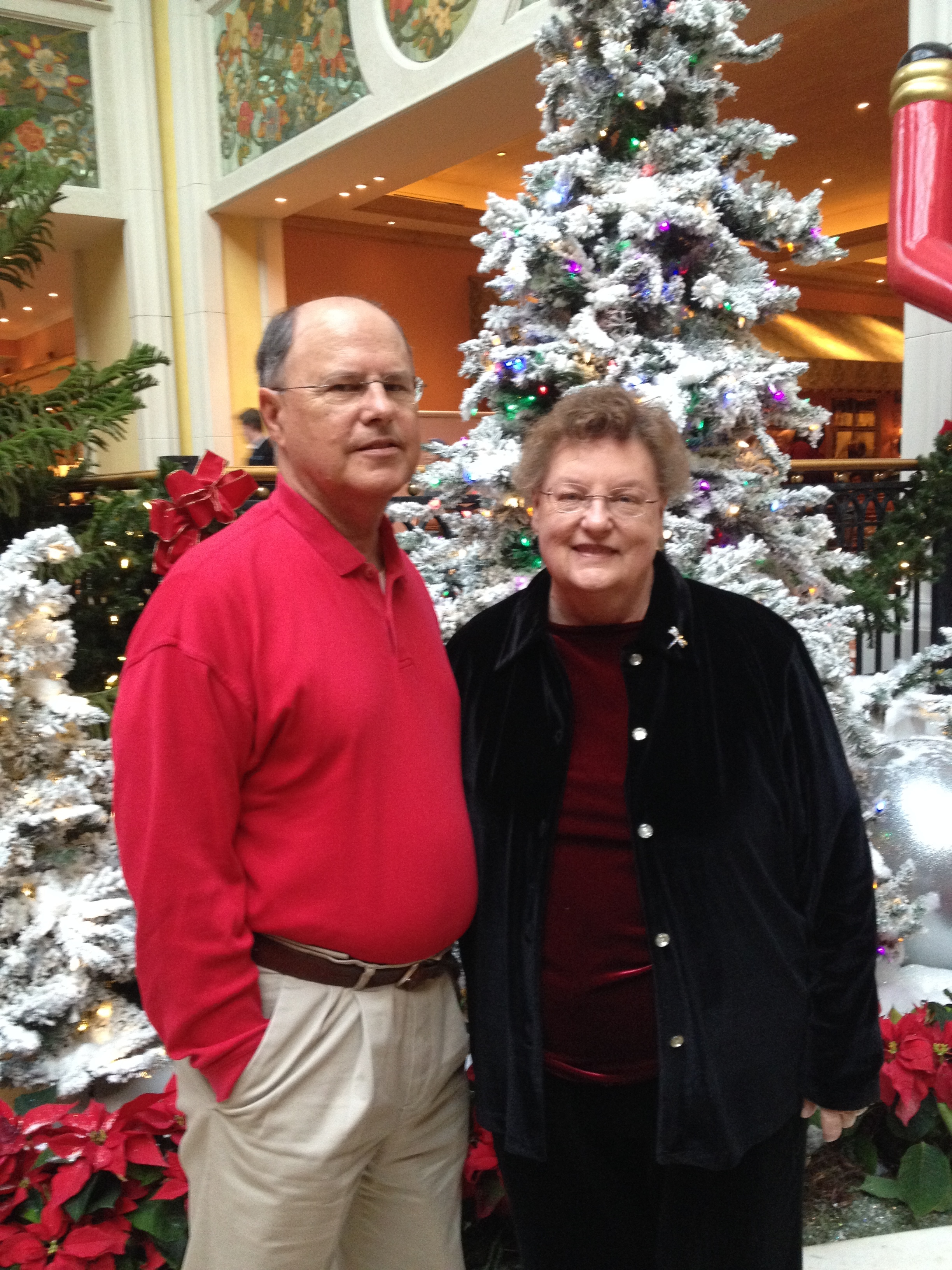 Dave (left) and Patricia (right) Hensley