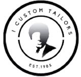 I. Custom Tailors logo. Links through to home page.