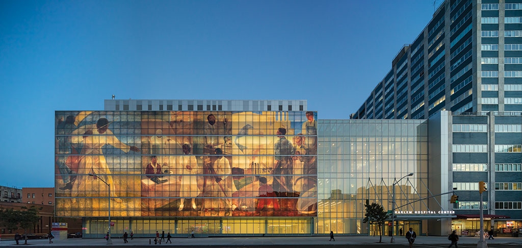 Harlem Hospital Kountz Pavilion - Exterior Renovation