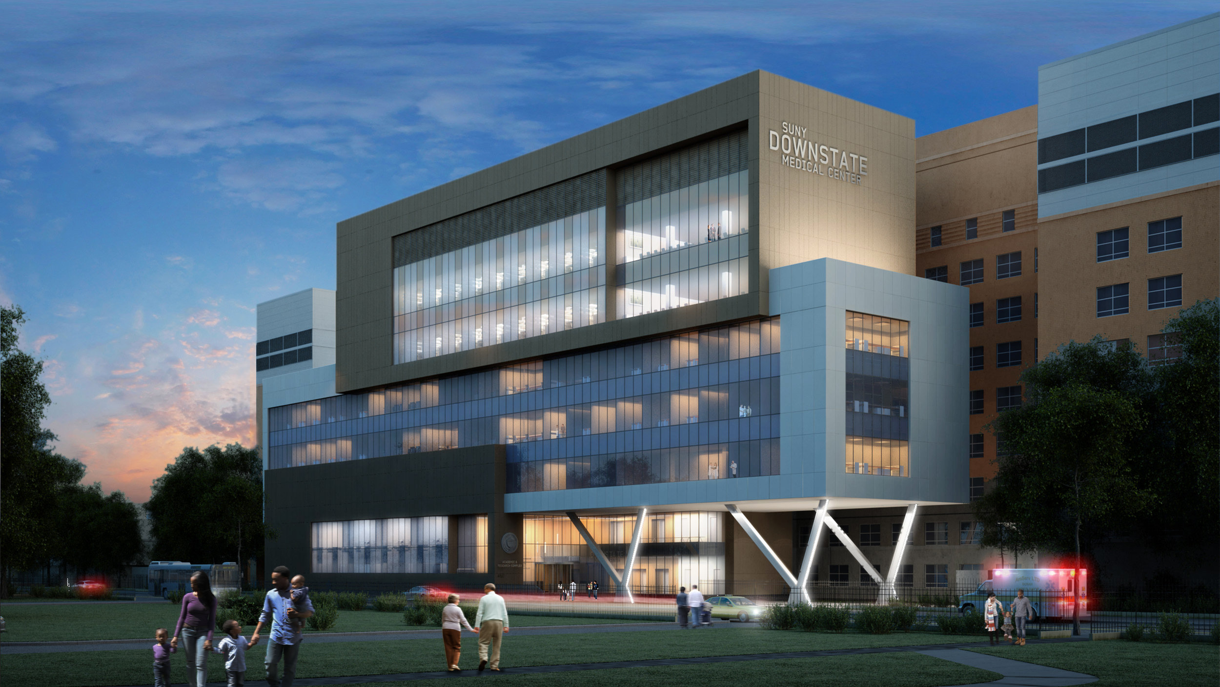 SUNY Downstate Medical Center - Medical Building Renovation