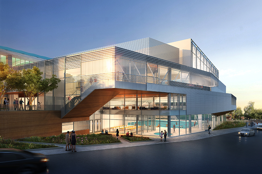 CUNY Queens College - Fitzgerald Gym Renovation & Addition