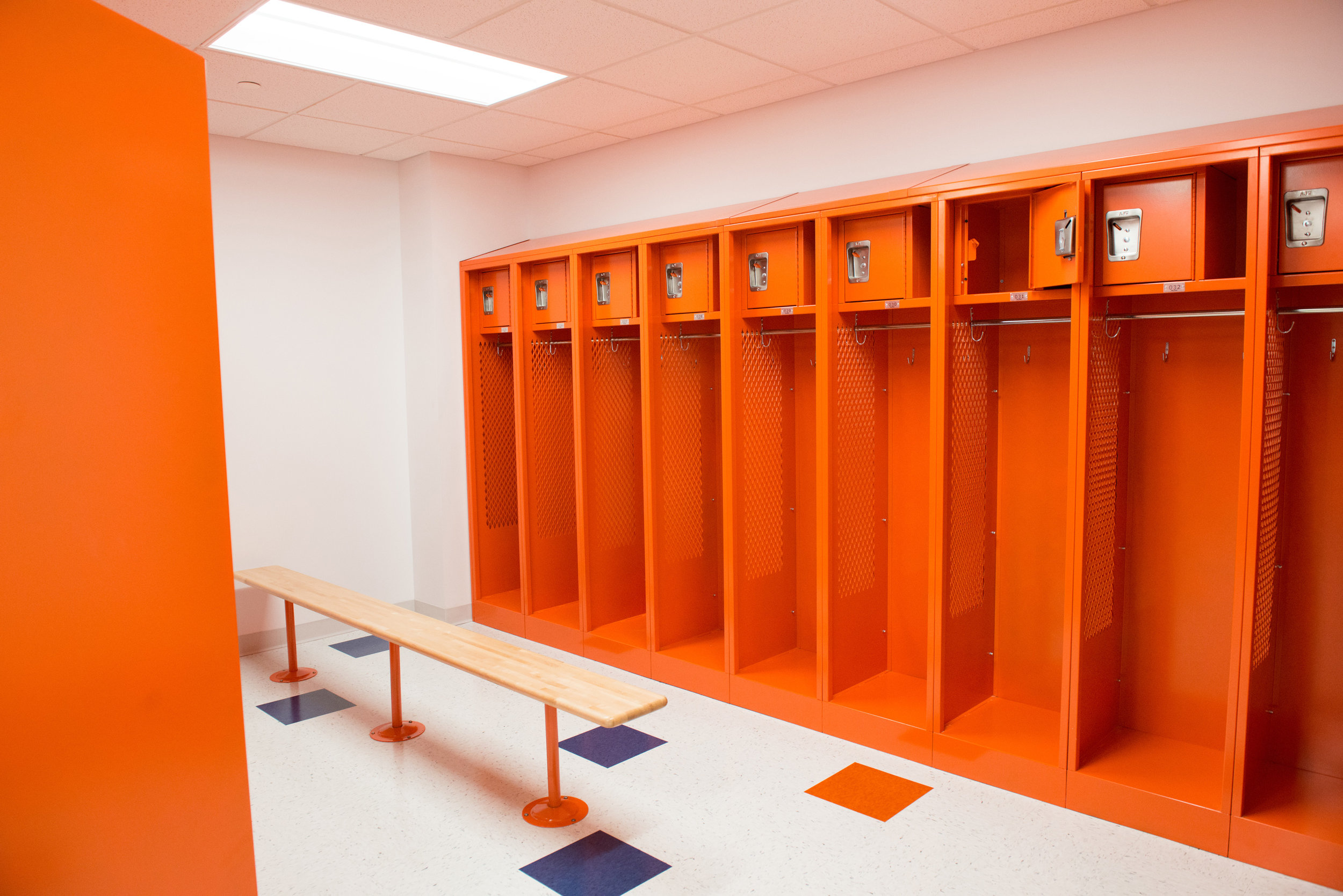 SUNY New Paltz - Locker Room Renovations