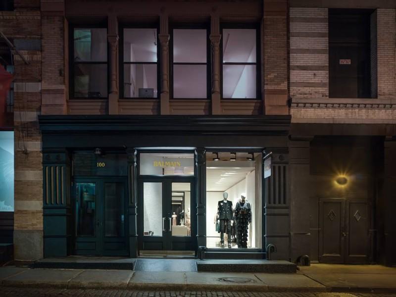 Balmain NYC Flagship Store