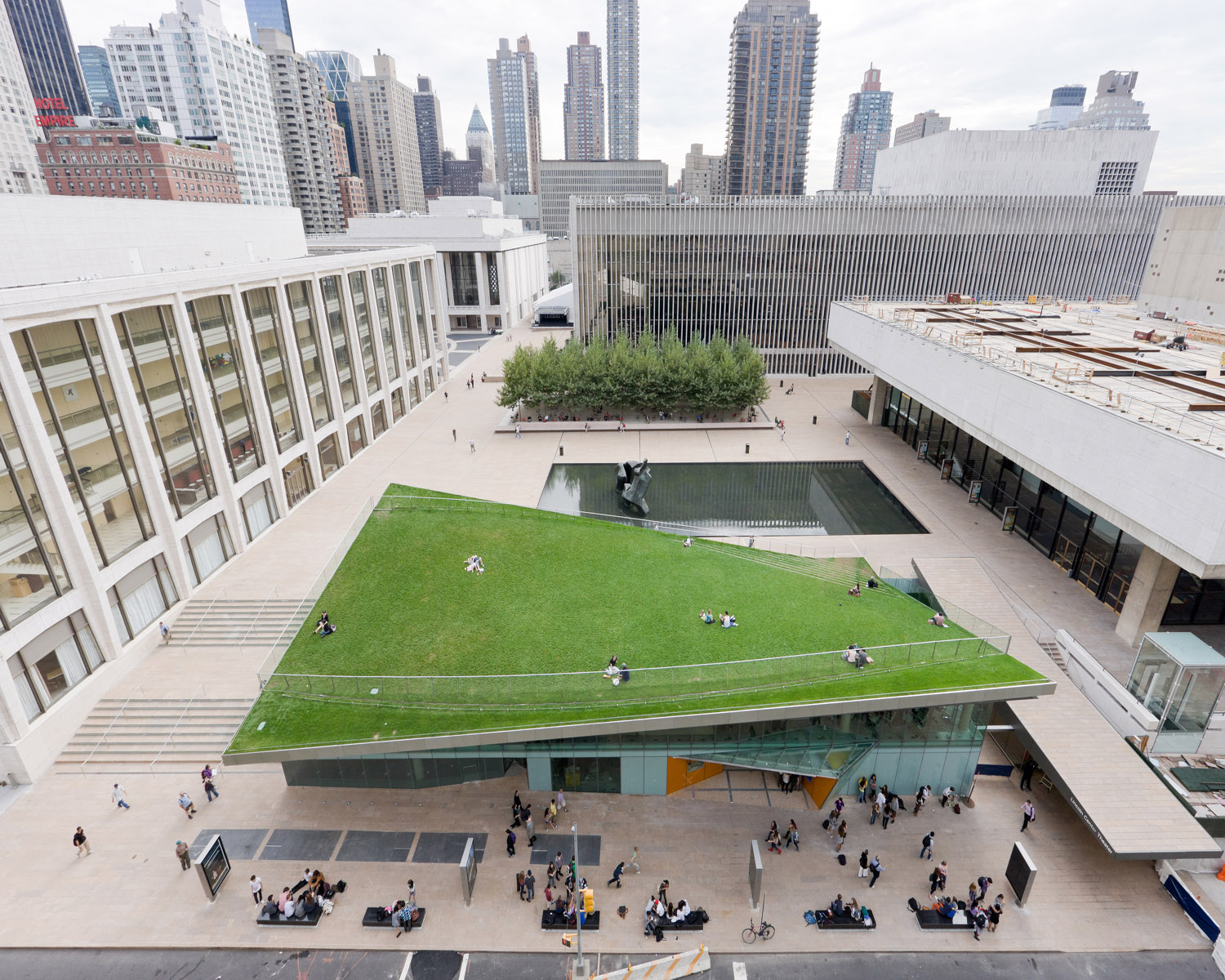 One Lincoln Center Green Roof Project
