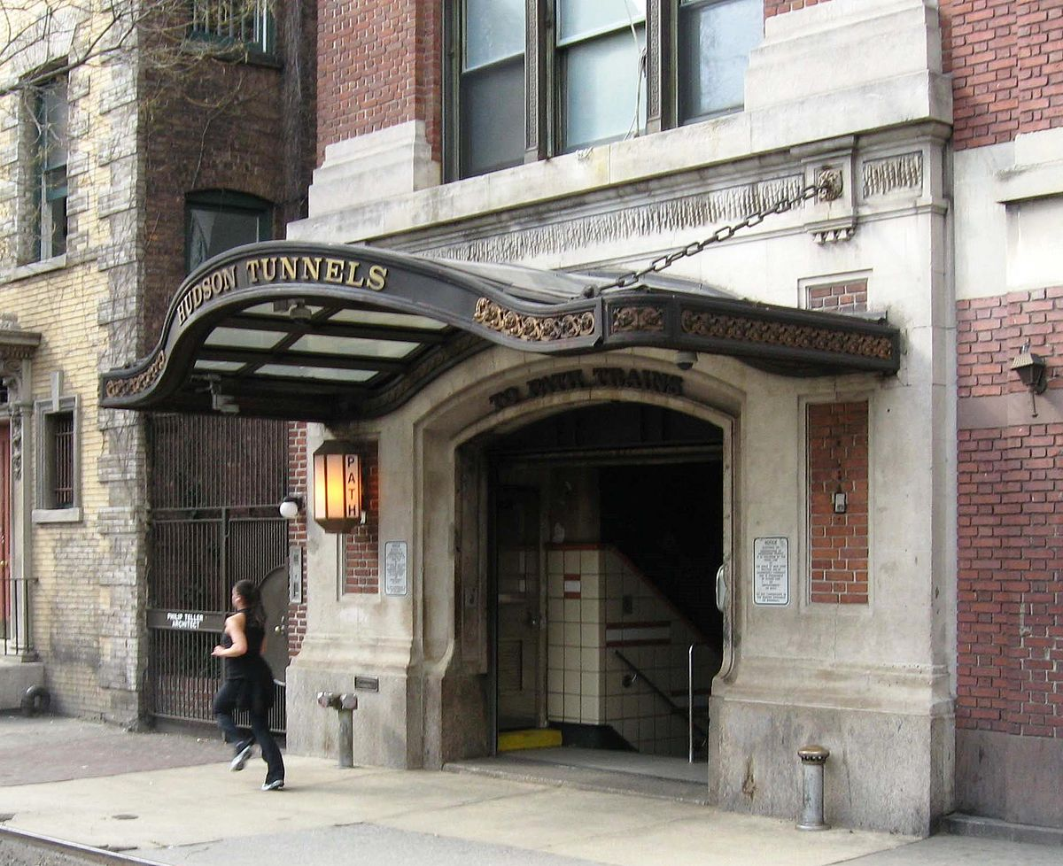 PATH Christopher/9th Street Station Entrances