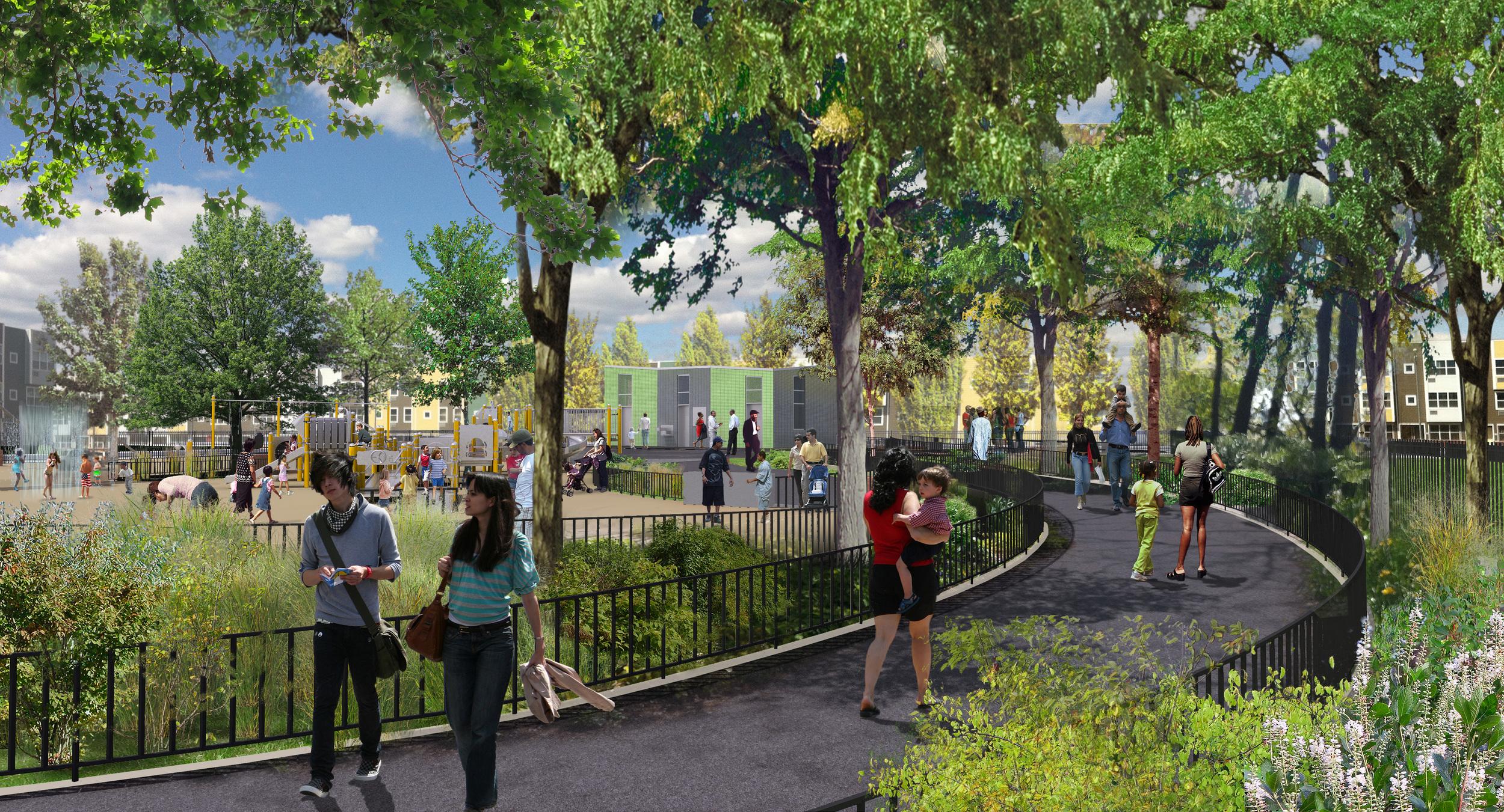 Gateway Estate / Berriman Park Comfort Station