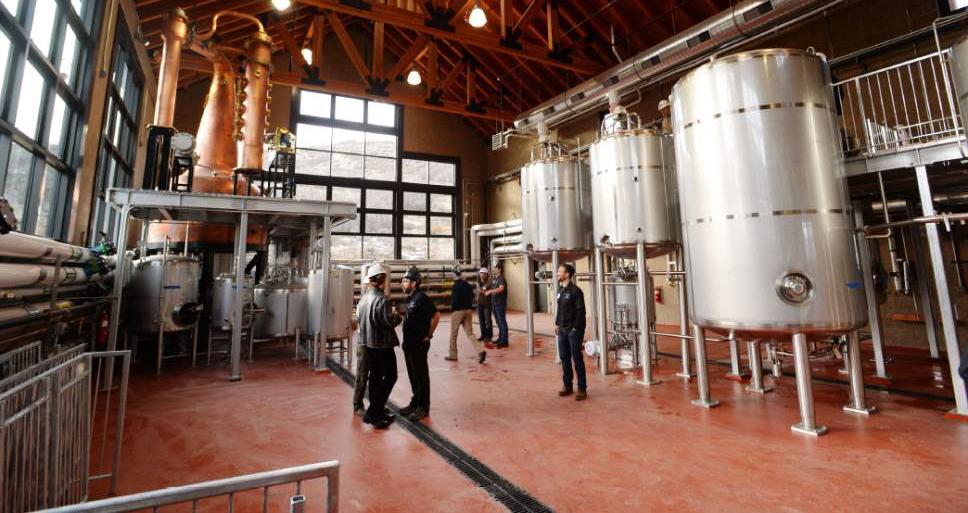 [ High West Distillery & Tasting Room -Wanship, Utah ]