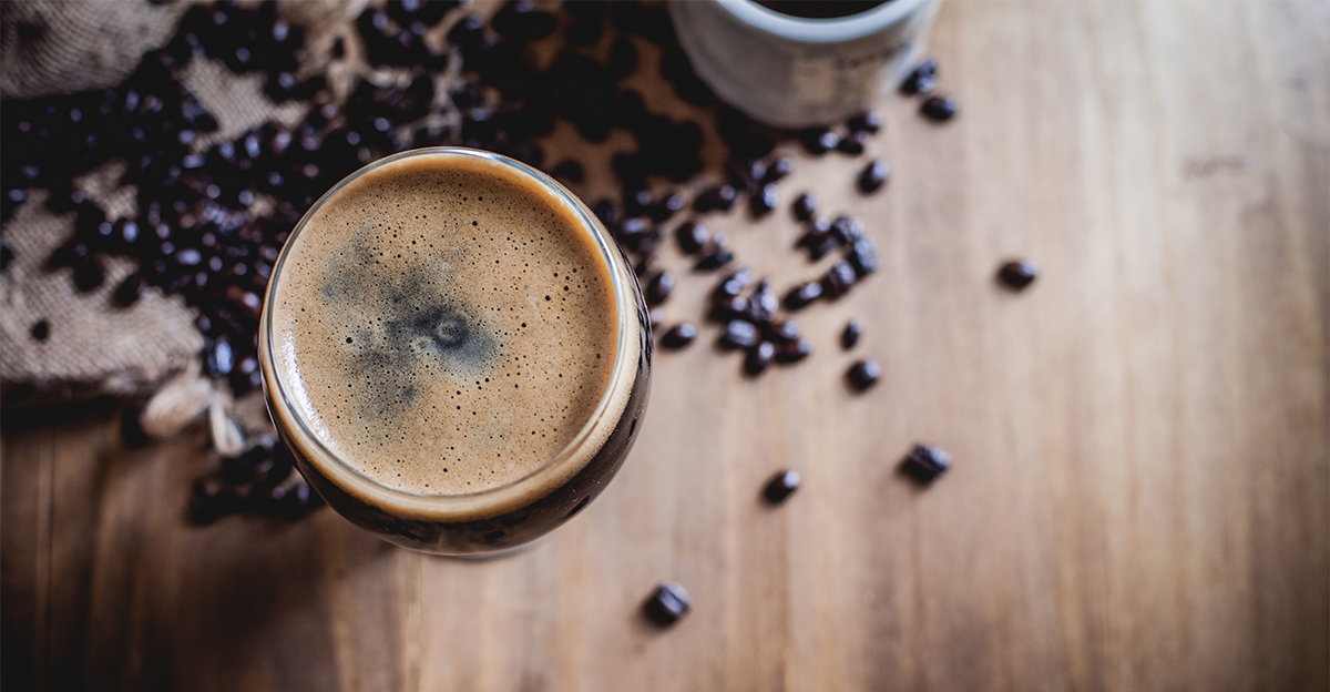 """Photo: CraftBeer.com via article, """"Beers Made with Barrel-Aged Coffee Beans are """"Blowing People's Minds"""""""