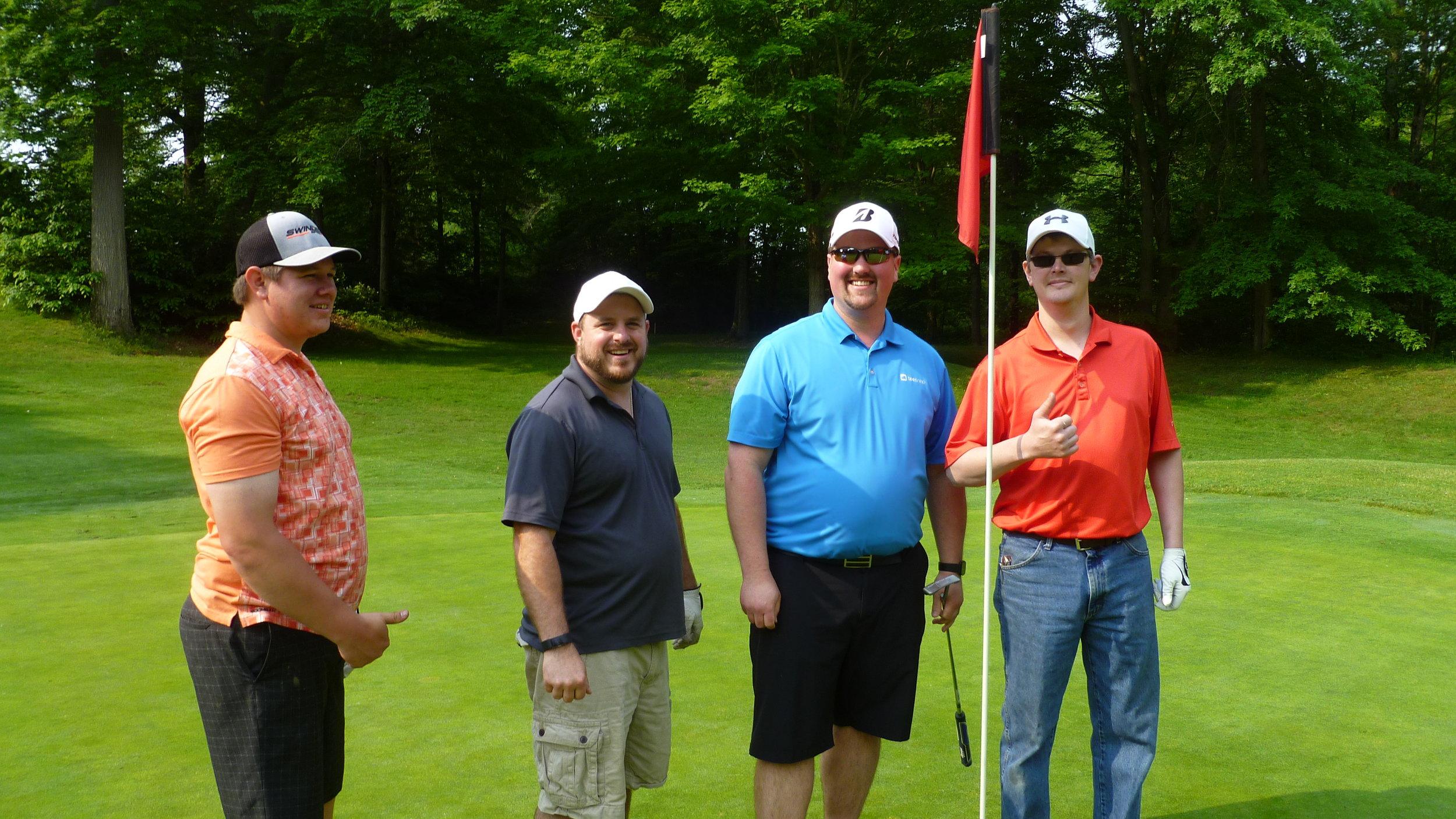 Second Place - Alliance Lodge #467 / Cody Schwin, Steve McCarthy, Mike Rubin, and Matt Rhodes