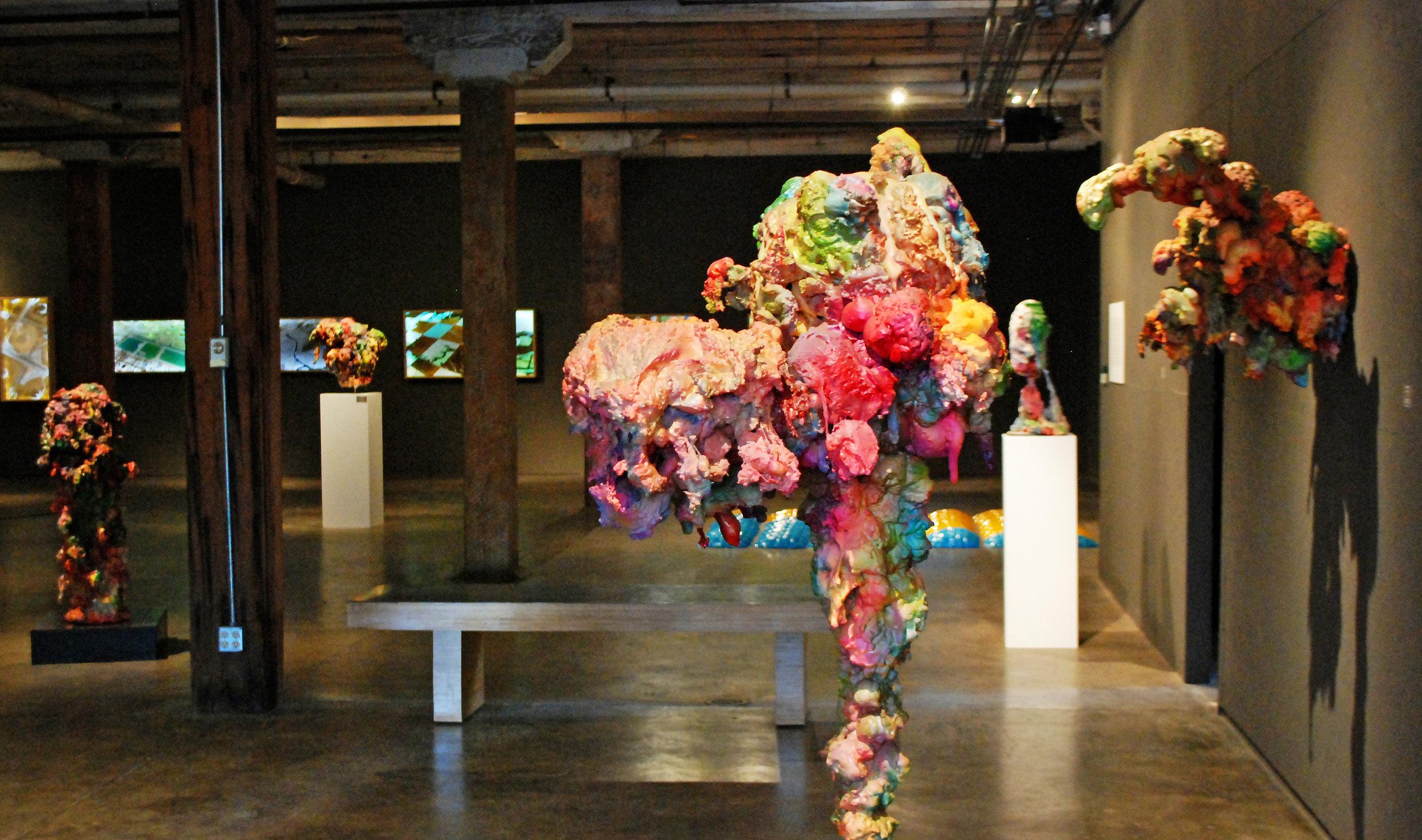 Art 365: 2011 - Grace Grothaus, Aaron Hauck, Geoffrey Hicks, Liz Rodda, Frank WickMarch 25th - May 7th