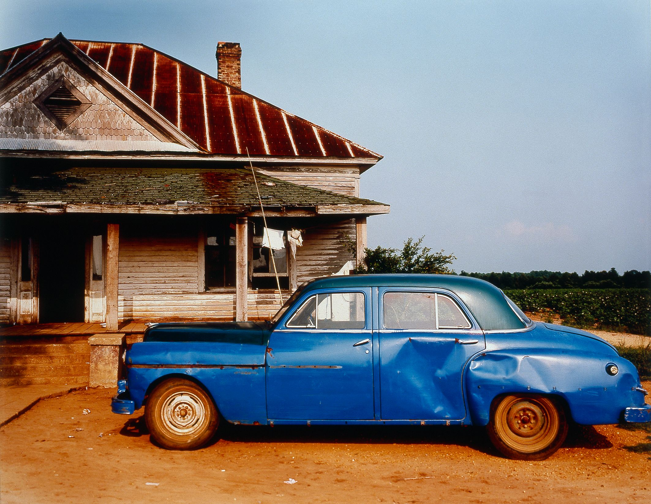 Christenberry, House and Car.jpg