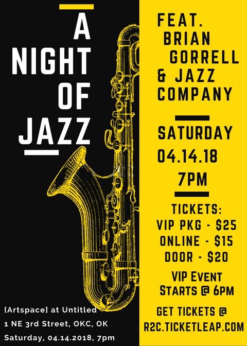 Yellow and Black Jazz Night Saxophone Illustration Concert Flyer.jpg