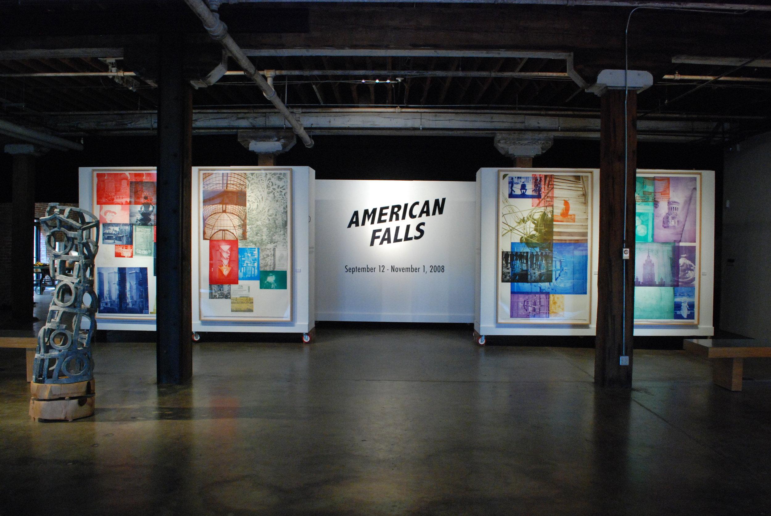 Philip Solomon's American Falls - September 12th - November 1st