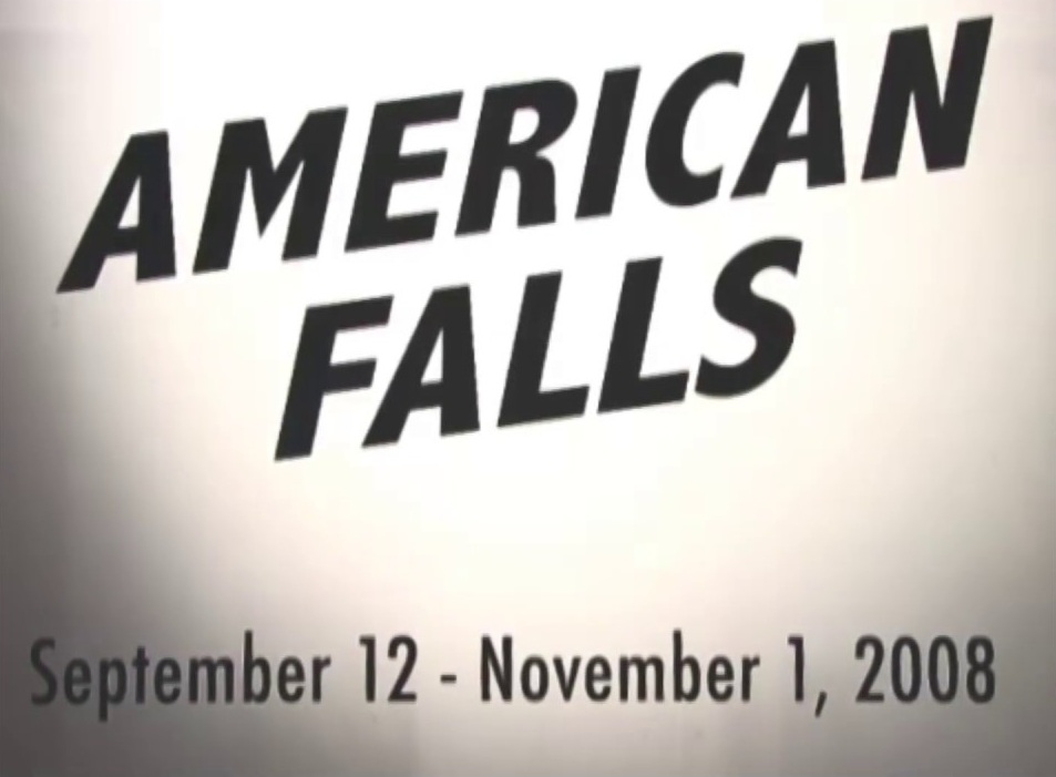 American Falls by Philip Solomon -