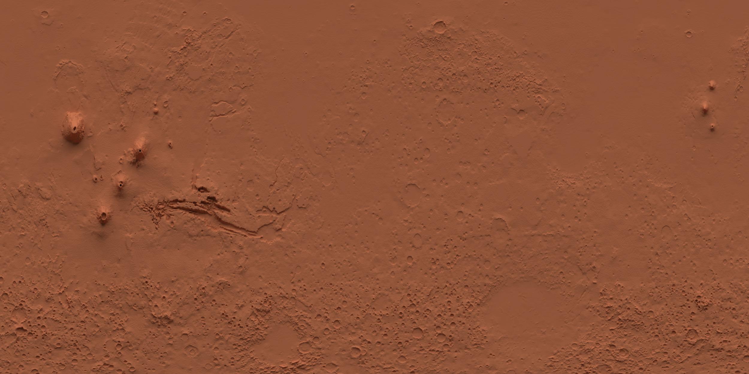 mars terrain render