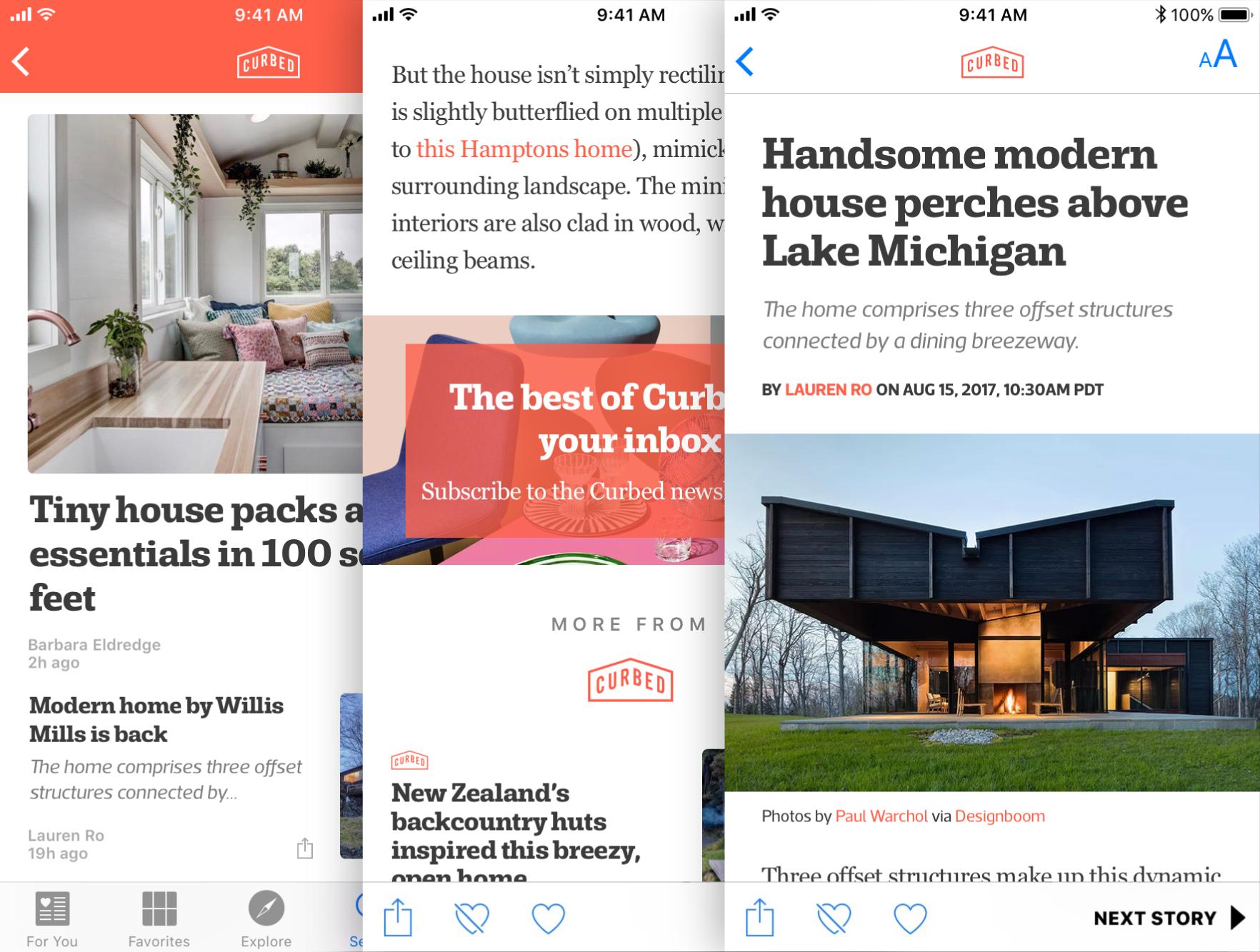 Extending the design system for Apple News
