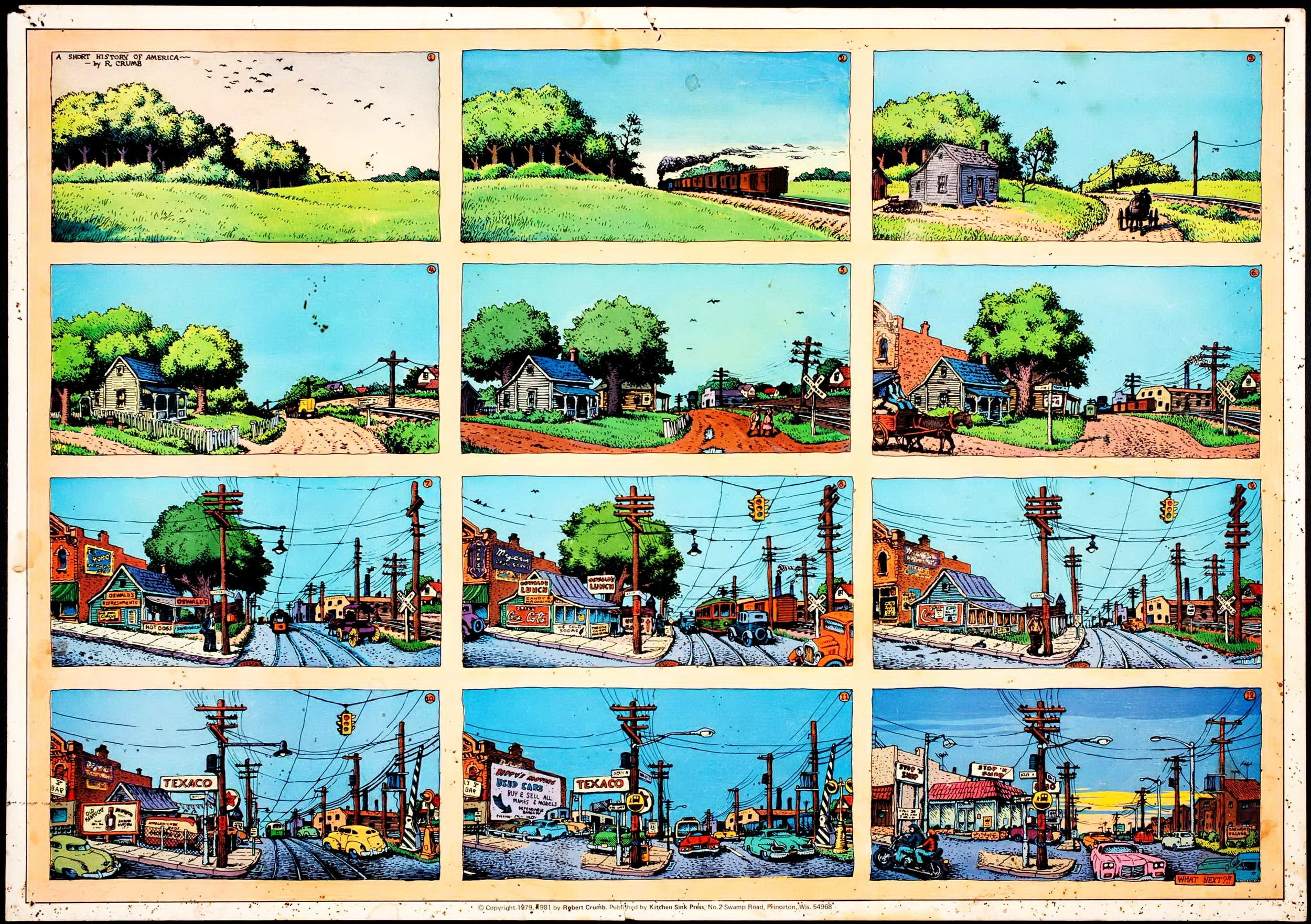 Robert Crumb — A short history of America