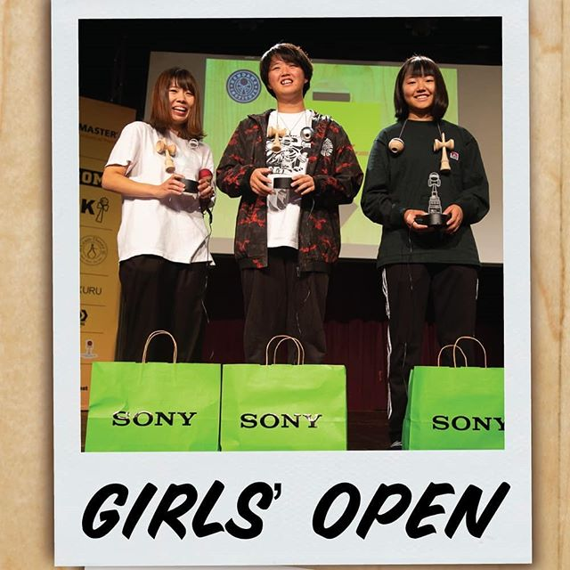 GIRLS OPEN 🥇 Yukie 🥈 Ruri 🥉 Ayaka • This year we had 7 girls compete Round Robin across all 3 days. We are so stoked for our Girls Open competitors and we hope to see this event grow each year! • #NAKO2019 #NorthAmericanKendamaOpen #GirlsOpen #Finals If you are in one of the pics, let us know so we can tag you!