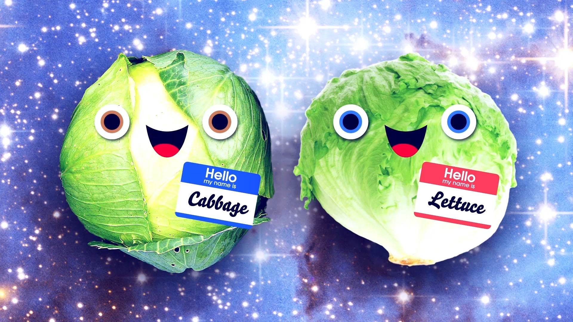 don't mix us up  A series of incredibly catchy music videos about things that are easily mixed up but absolutely should not be—like cabbage and lettuce, mustaches and eyebrows and Kentucky and Tennessee. (Animated)