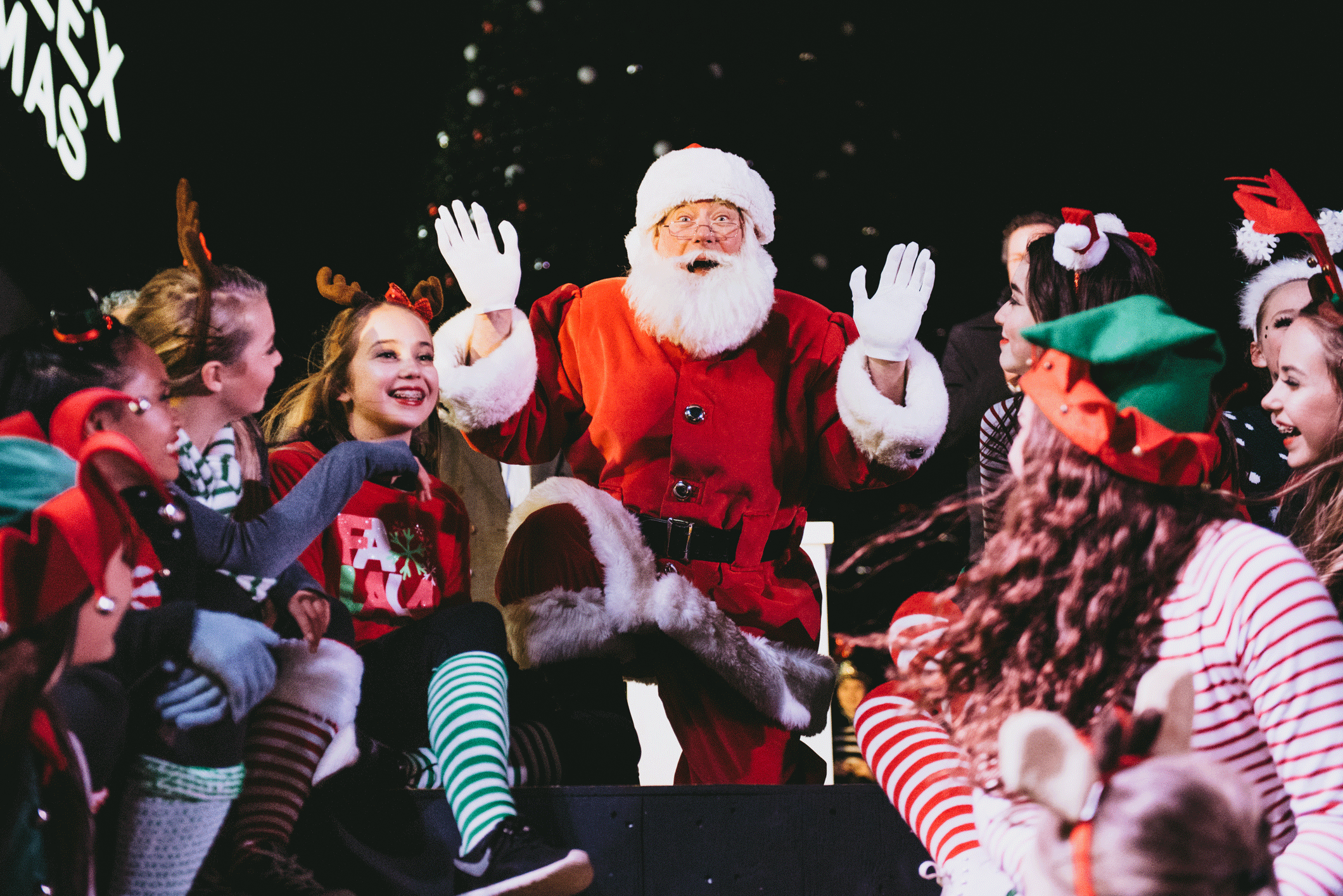 Highstreet gives the gift of the biggest & brightest holiday show in the Fraser Valley! -