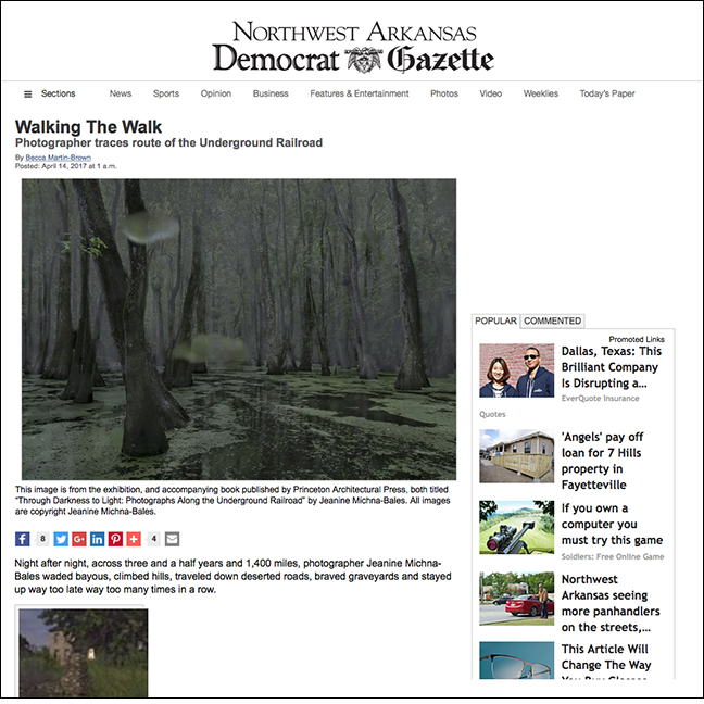NORTHWEST ARKANSAS DEMOCRAT GAZETTE   by Becca Martin-Brown April 14, 2017
