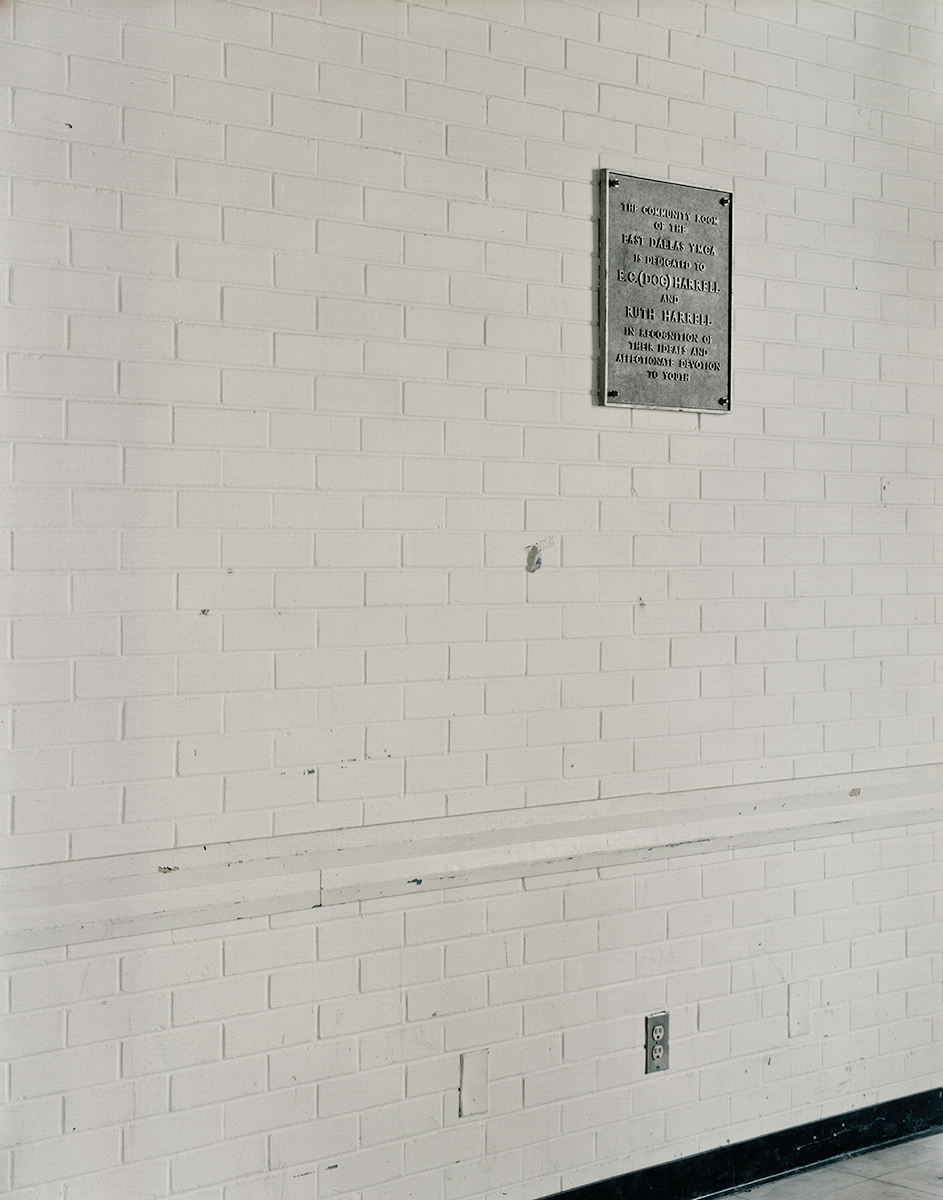 YMCA Dedication Plaque