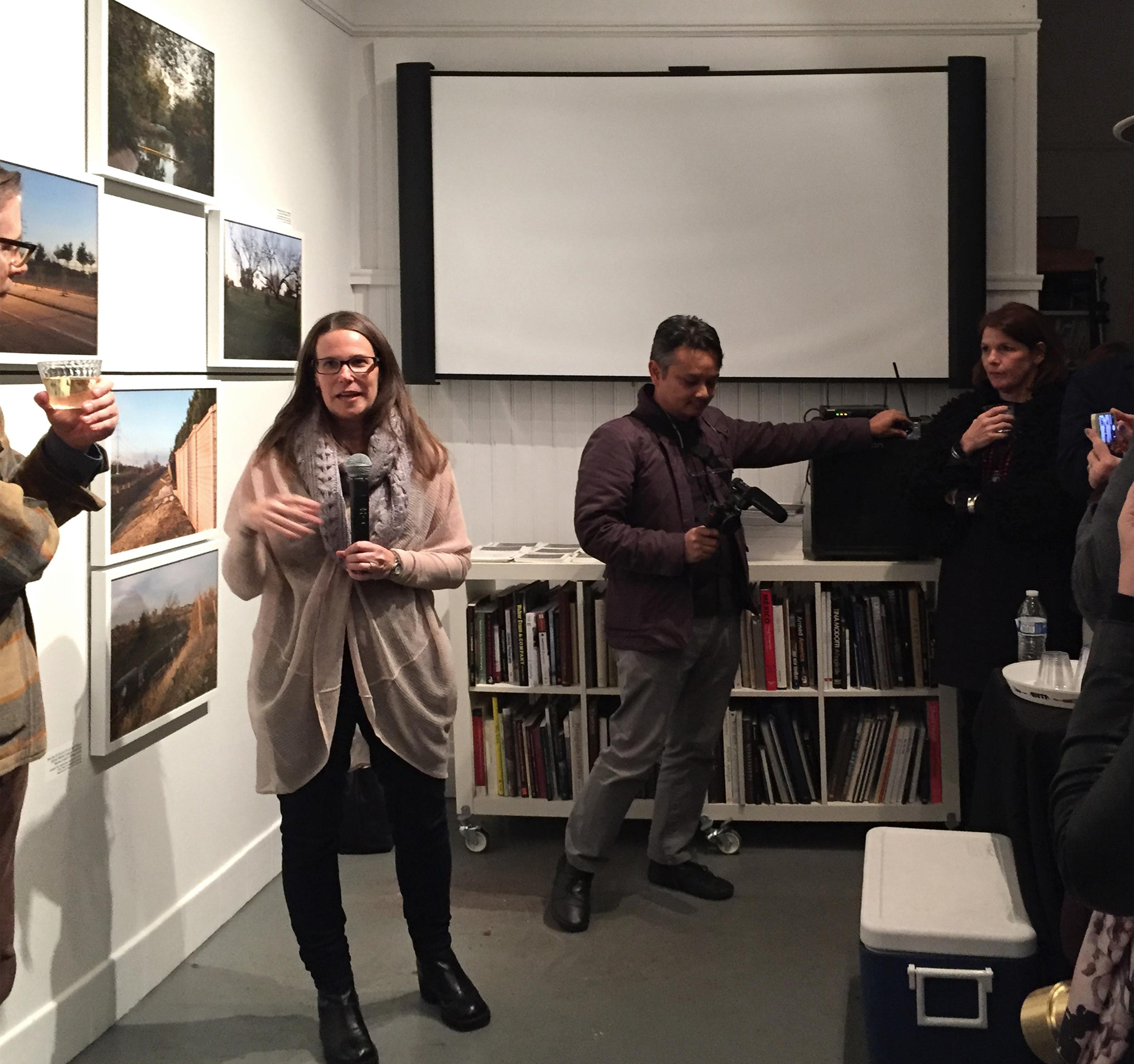 Artist Talk for    TWO PROJECTS: An Overview     at The New Orleans Photo Alliance Gallery during PhotoNOLA 2016.