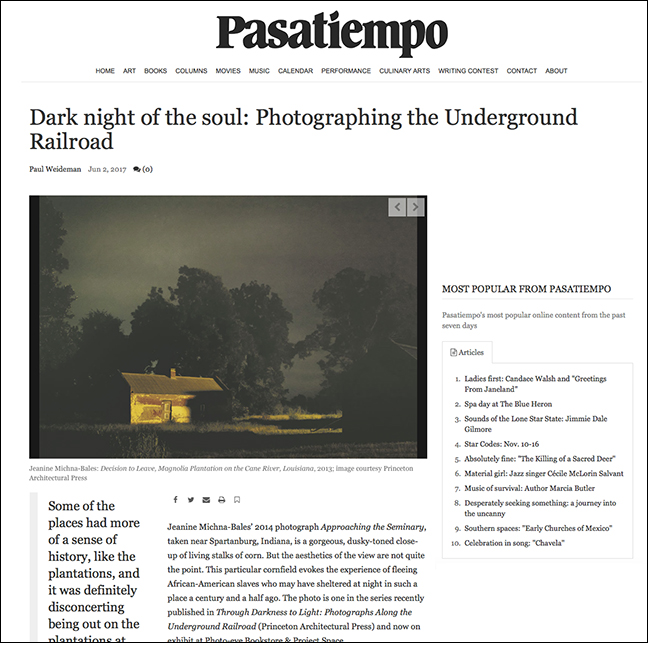 PASATIEMPO   by Paul Weideman June 2, 2017