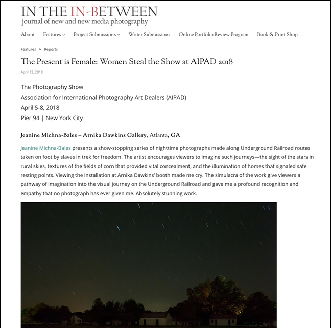 IN THE IN-BETWEEN   By Gregory Eddi Jones April 13, 2018