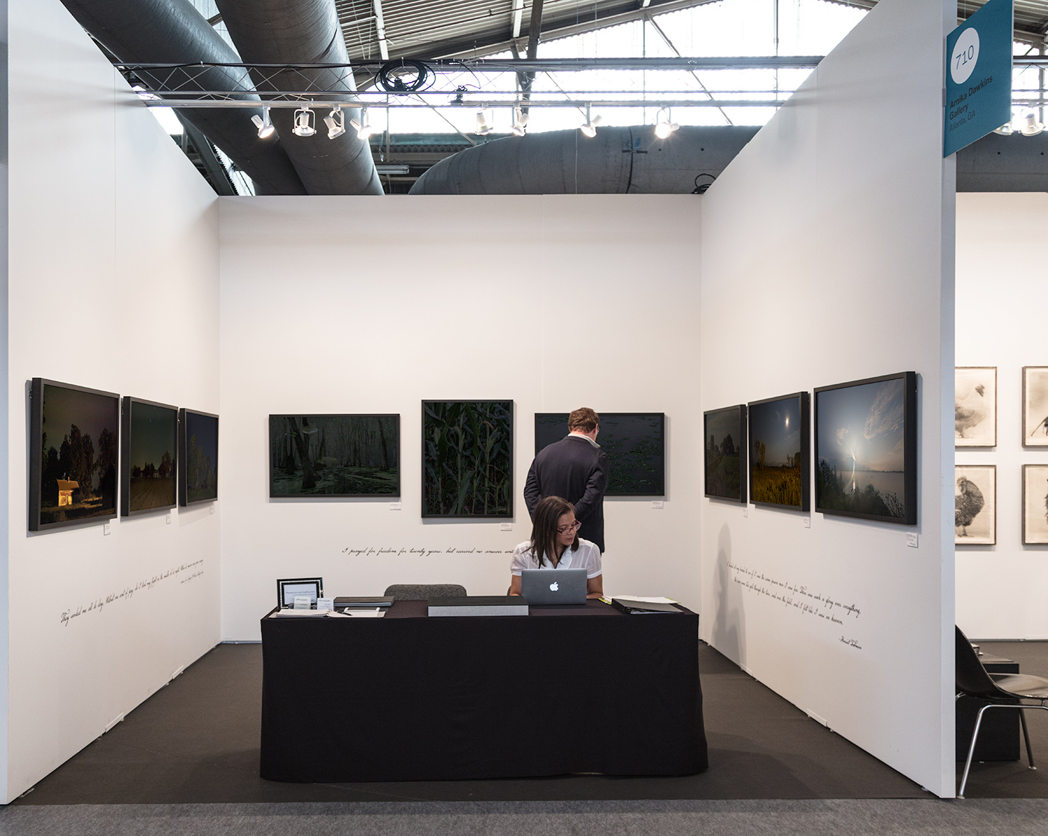 Arnika Dawkins Gallery   brought  Through Darkness to Light  to The 2018 Photography Show by AIPAD.