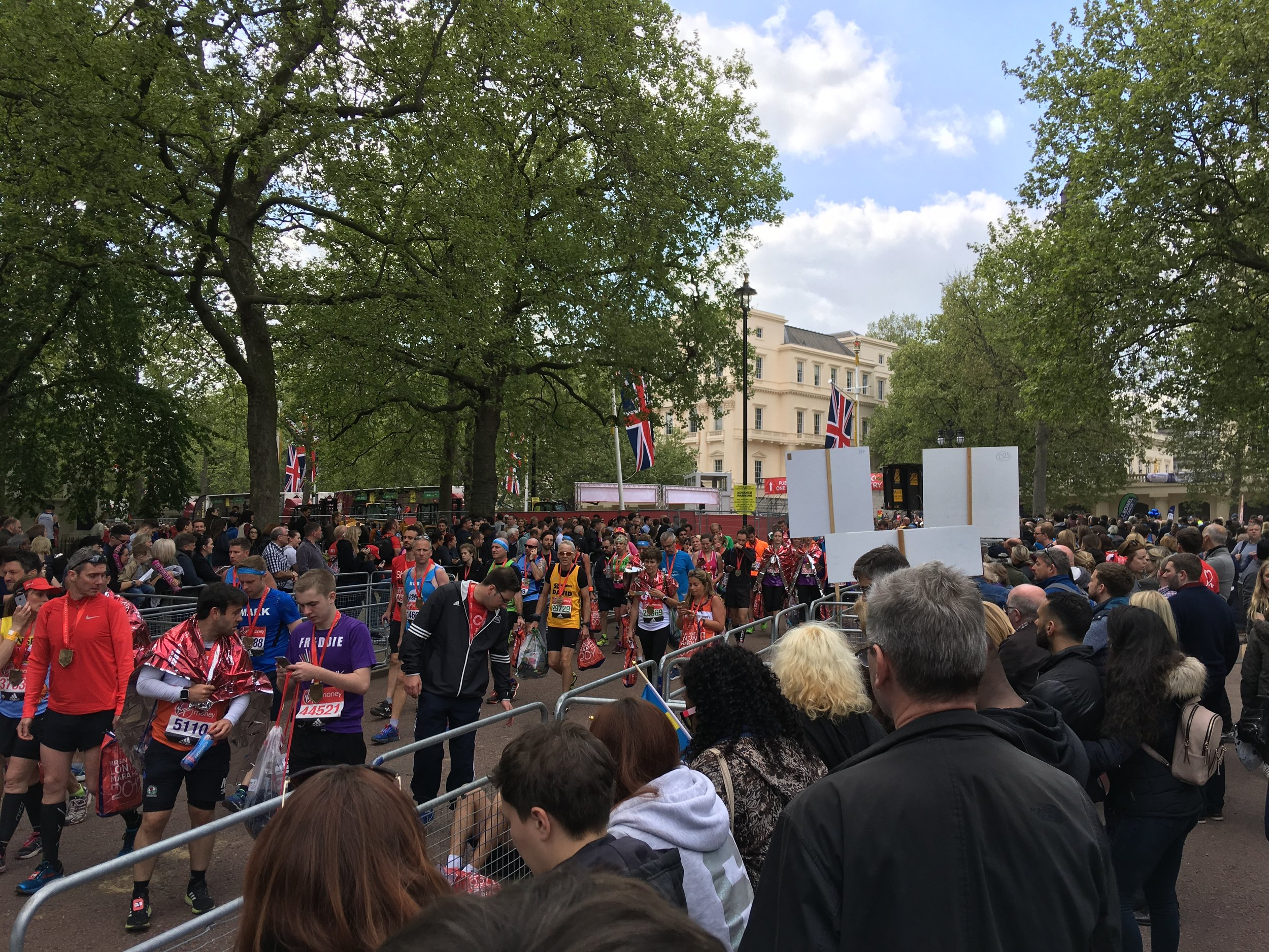 My London Marathon   - In April last year I spent the day with the Virgin London Marathon Team and Prostate  Cancer UK treating participants of the London Marathon